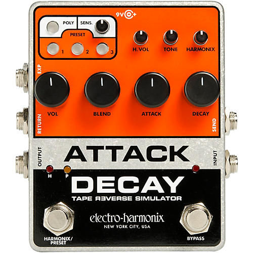 Electro-Harmonix Attack Decay Effects Pedal thumbnail