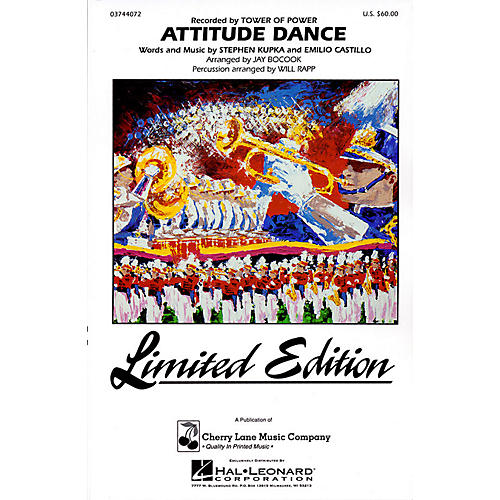 Cherry Lane Attitude Dance Marching Band Level 4 Arranged by Jay Bocook thumbnail
