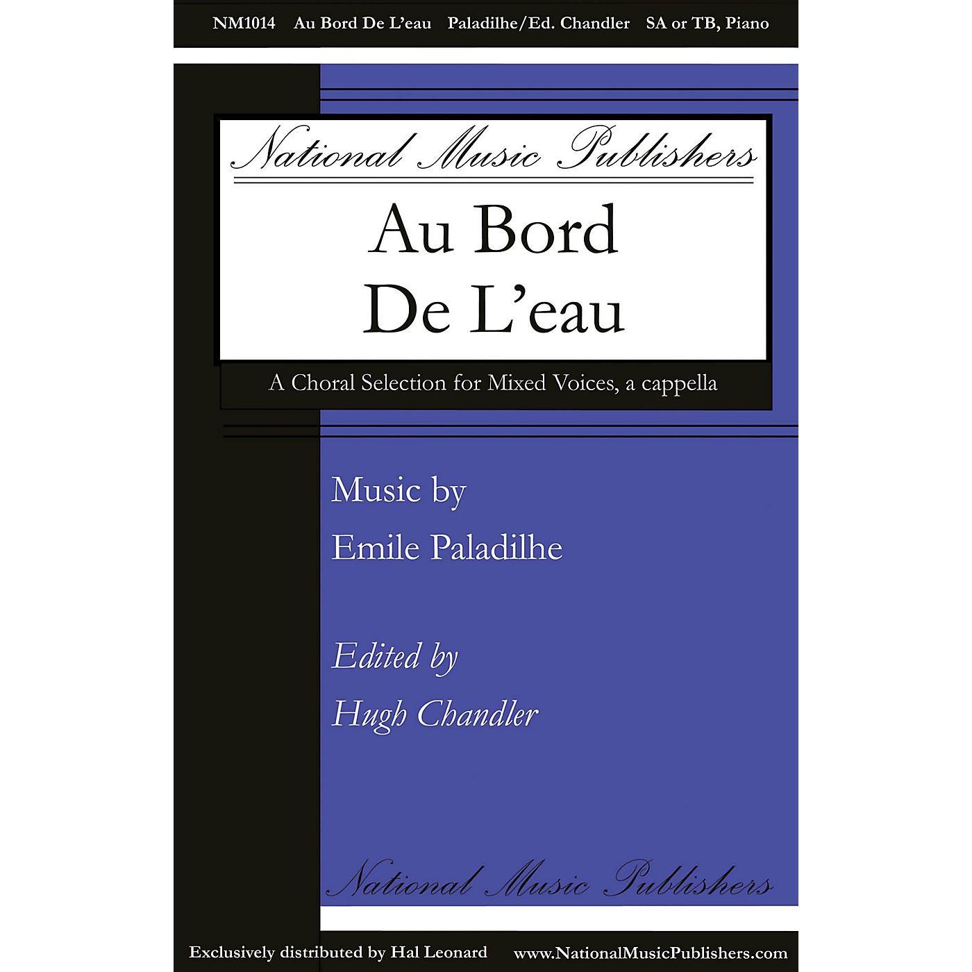 National Music Publishers Au Bord de l'Eau SA composed by Emile Paladilhe thumbnail