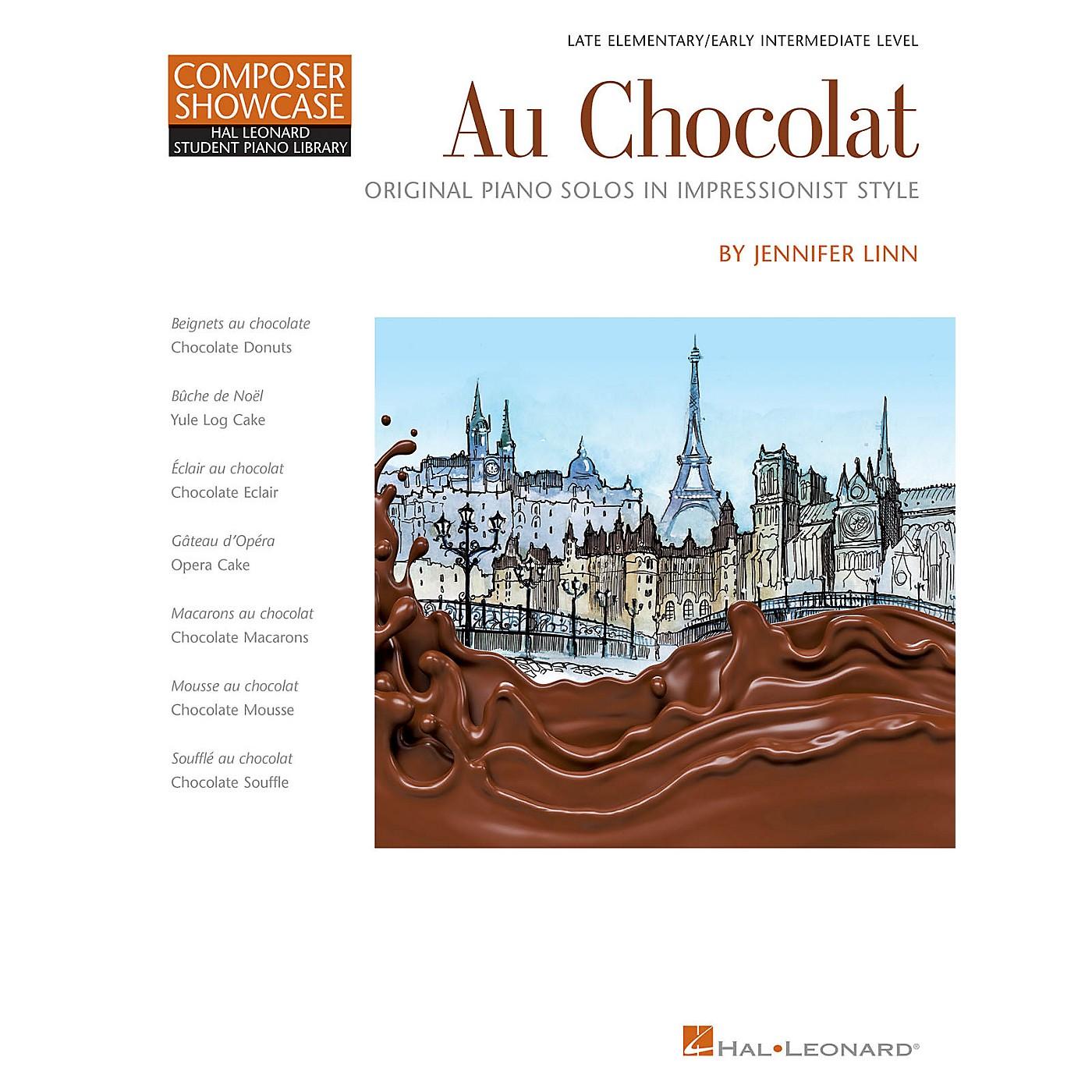 Hal Leonard Au Chocolat-Original Piano Solos in Impressionist Style Late Elementary/Early Intermediate Level thumbnail