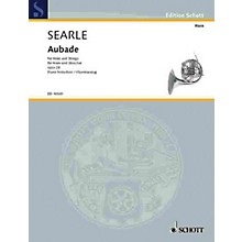 Schott Aubade Op. 28 (Horn and Strings, Piano Reduction) Schott Series