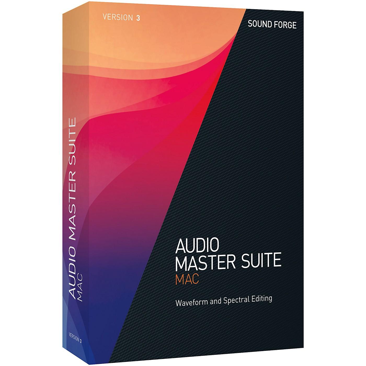 Magix Audio Master Suite Mac Upgrade thumbnail