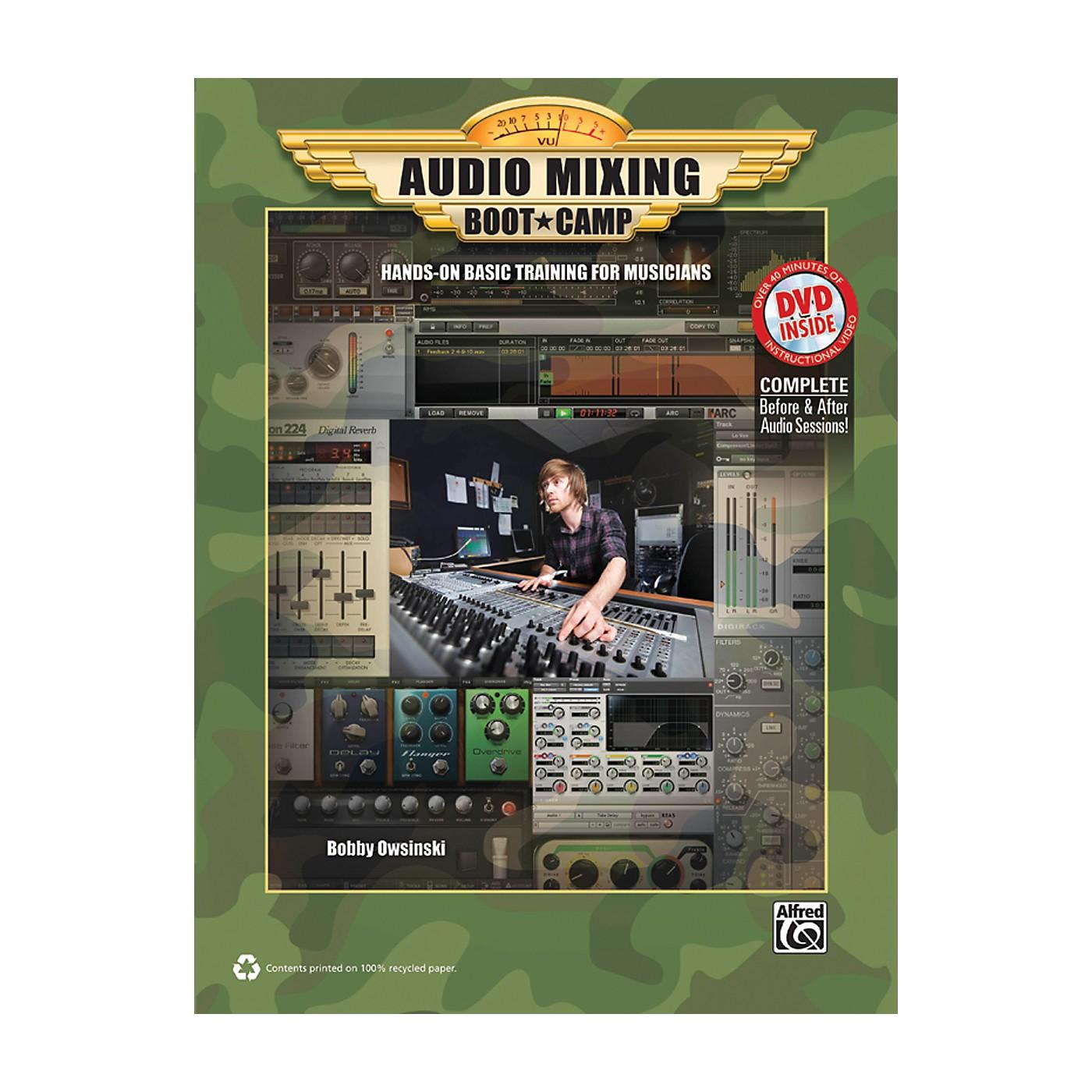Alfred Audio Mixing Boot Camp Book & DVD thumbnail