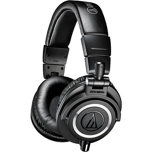 Audio-Technica Audio-Technica ATH-M50x Closed-Back Professional Studio Monitor Headphones Black thumbnail