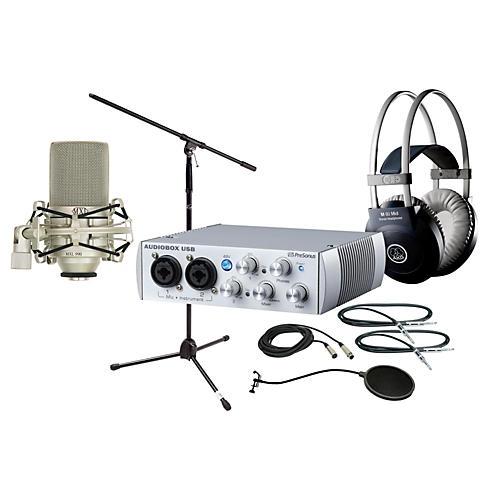 PreSonus AudioBox 2x2 MXL 990 Package thumbnail