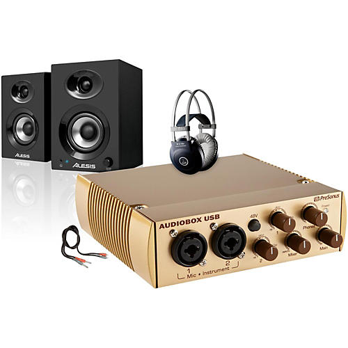 PreSonus AudioBox Gold Elevate Package thumbnail