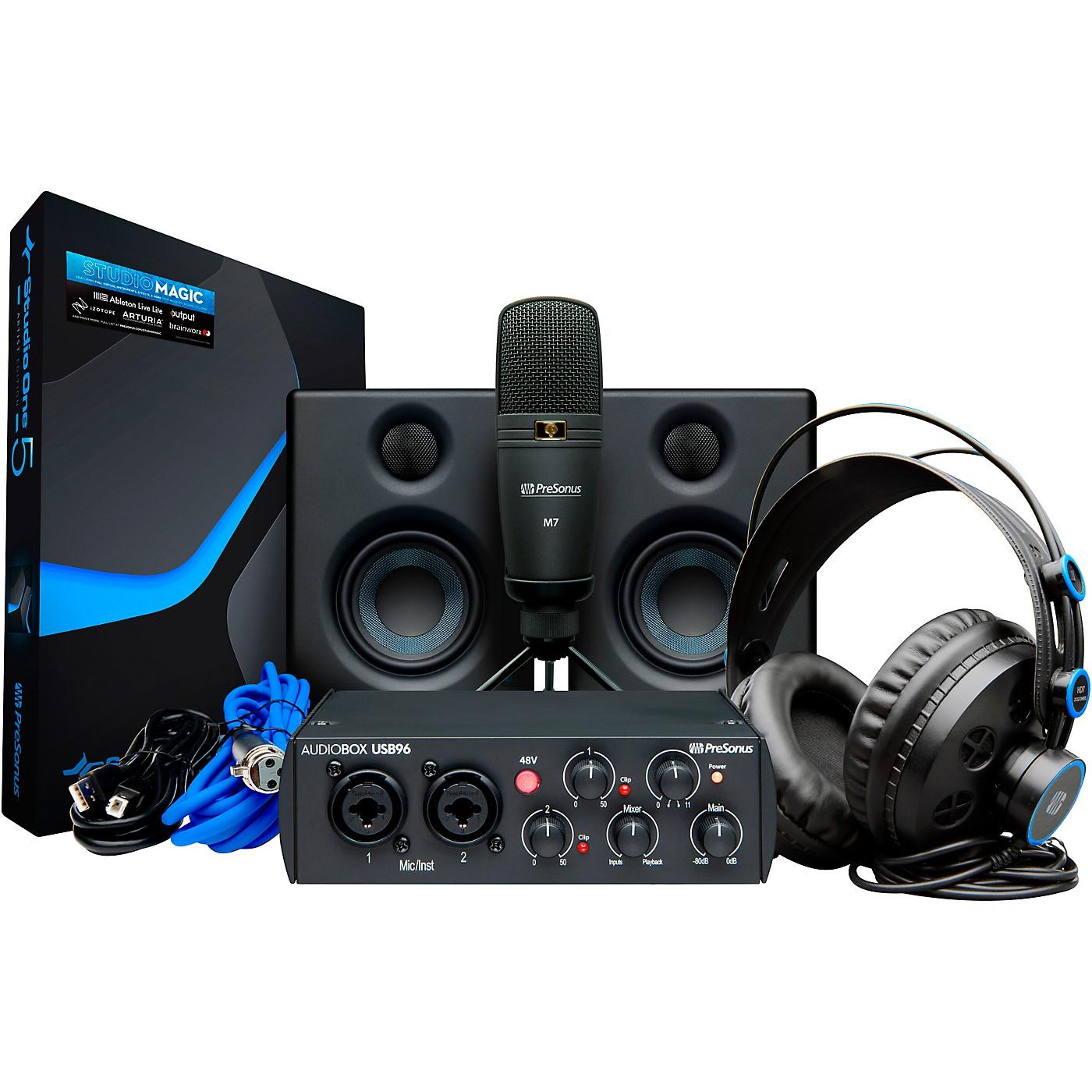 Presonus AudioBox Studio Ultimate Bundle, 25th Anniversary Edition thumbnail