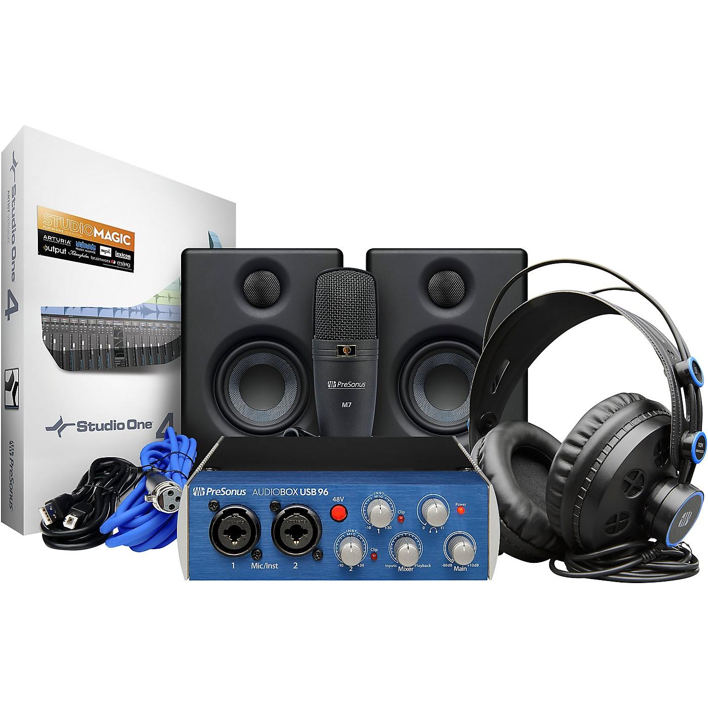 PreSonus AudioBox Studio Ultimate Bundle Complete Hardware/Software Recording Kit thumbnail