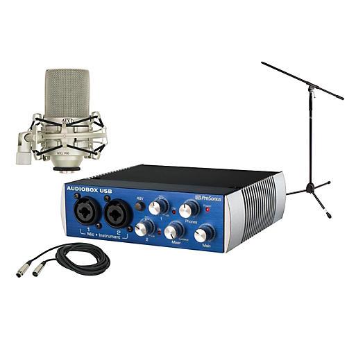 PreSonus AudioBox USB 2x2 MXL Package thumbnail
