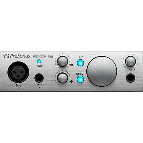 PreSonus AudioBox iOne 2x2 USB & iPad Recording System thumbnail