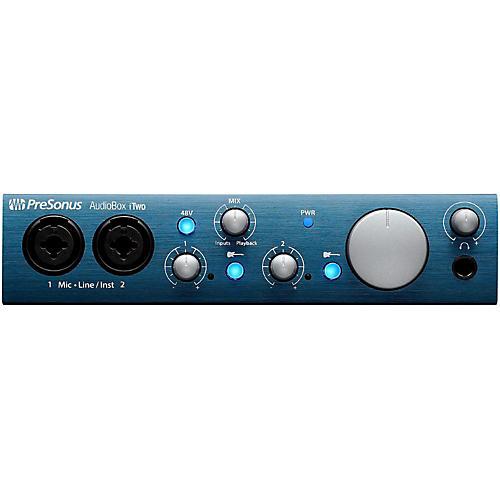 PreSonus AudioBox iTwo 2x2 USB/iPad Recording System thumbnail