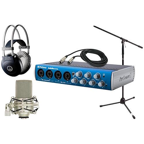 PreSonus Audiobox 44VSL MXL AKG Package thumbnail