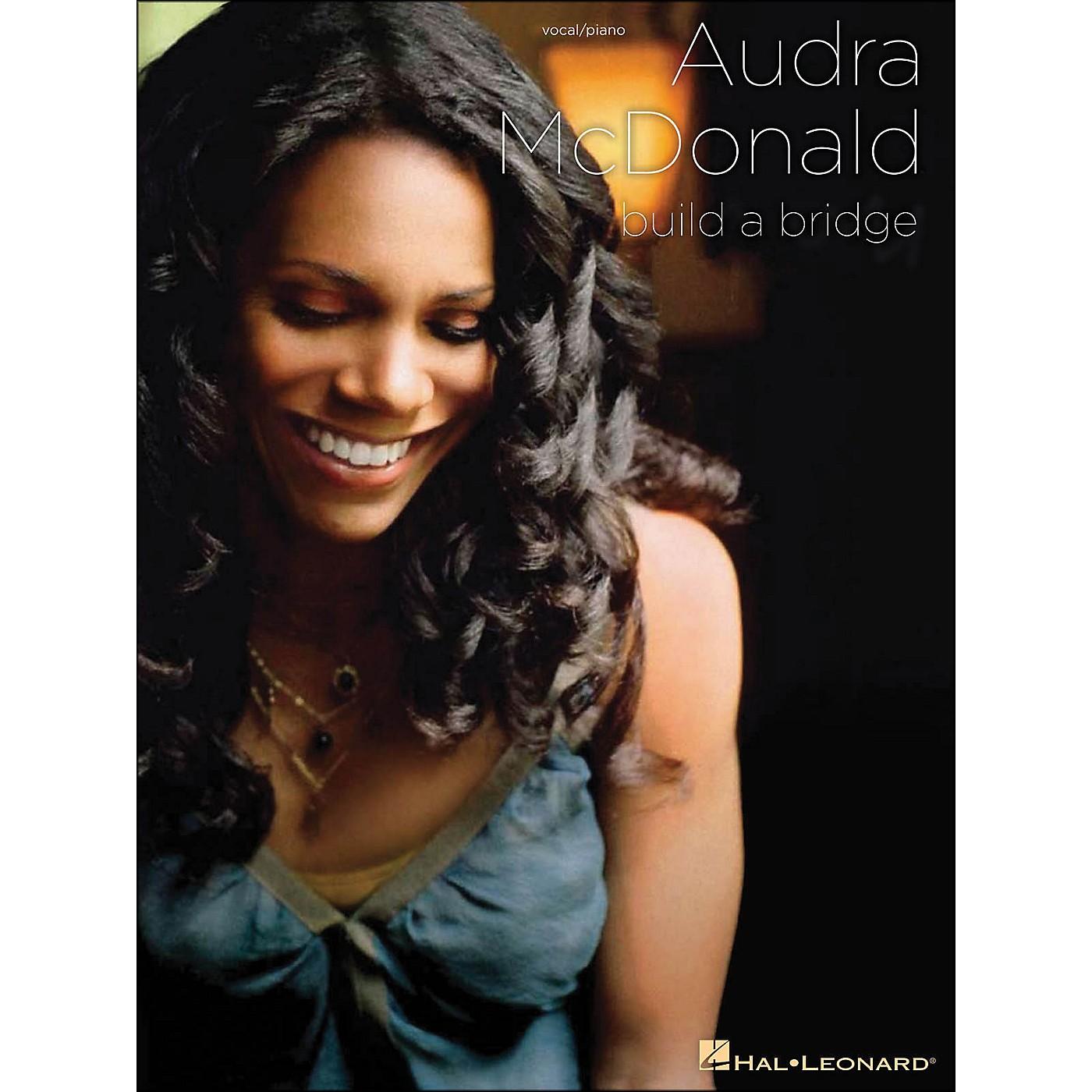 Hal Leonard Audra McDonald Build A Bridge Piano/Vocal arranged for piano, vocal, and guitar (P/V/G) thumbnail