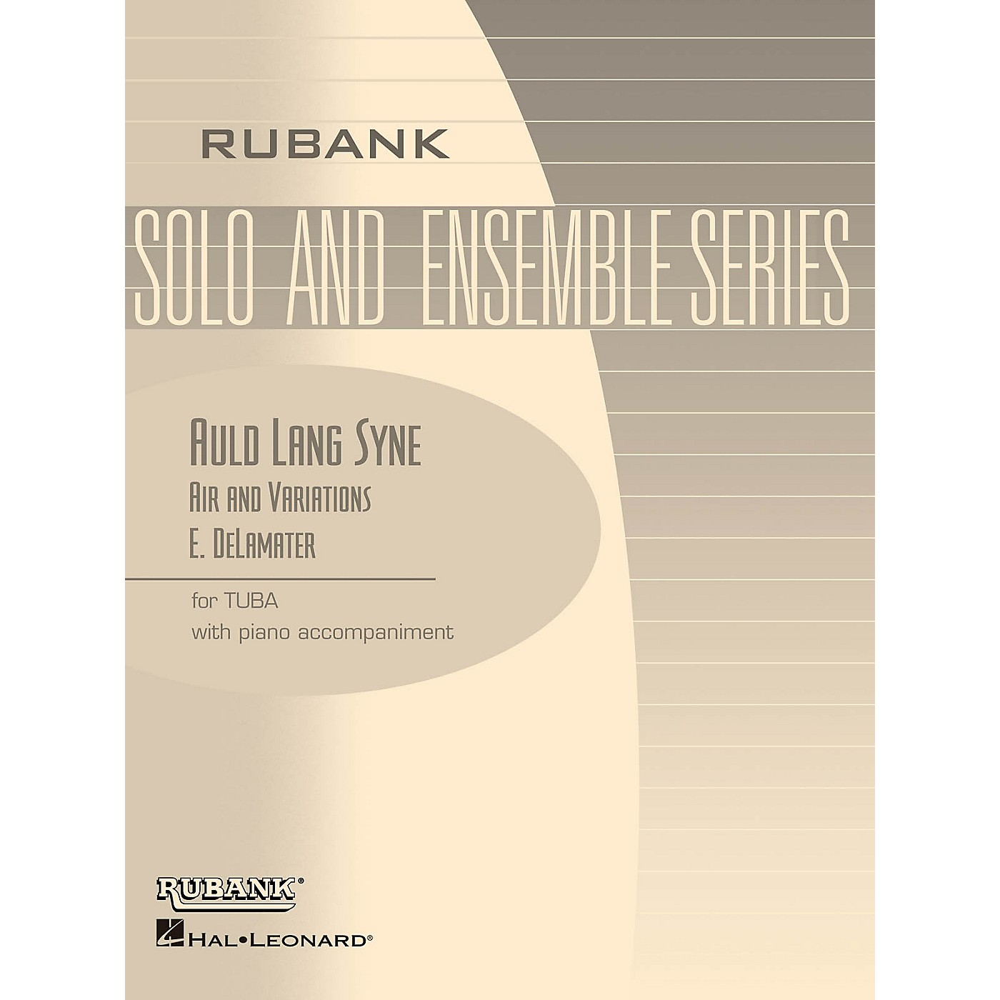 Rubank Publications Auld Lang Syne - Air and Variations Rubank Solo/Ensemble Sheet Series Softcover thumbnail
