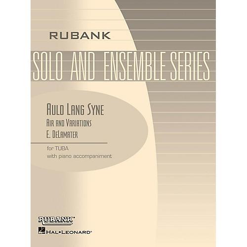 Rubank Publications Auld Lang Syne - Air and Variations Rubank Solo/Ensemble Sheet Series Softcover thumbnail