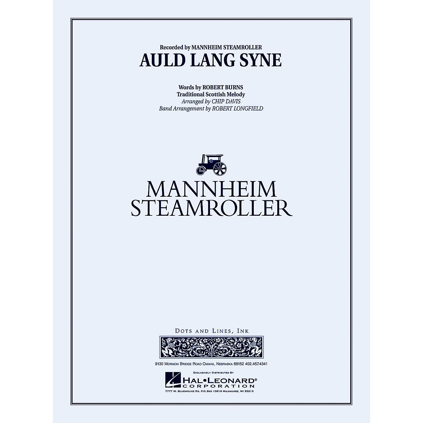 Mannheim Steamroller Auld Lang Syne Concert Band Level 3-4 by Mannheim Steamroller Arranged by Robert Longfield thumbnail