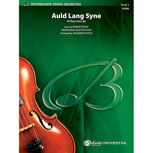 Alfred Auld Lang Syne String Orchestra Grade 2 Set thumbnail