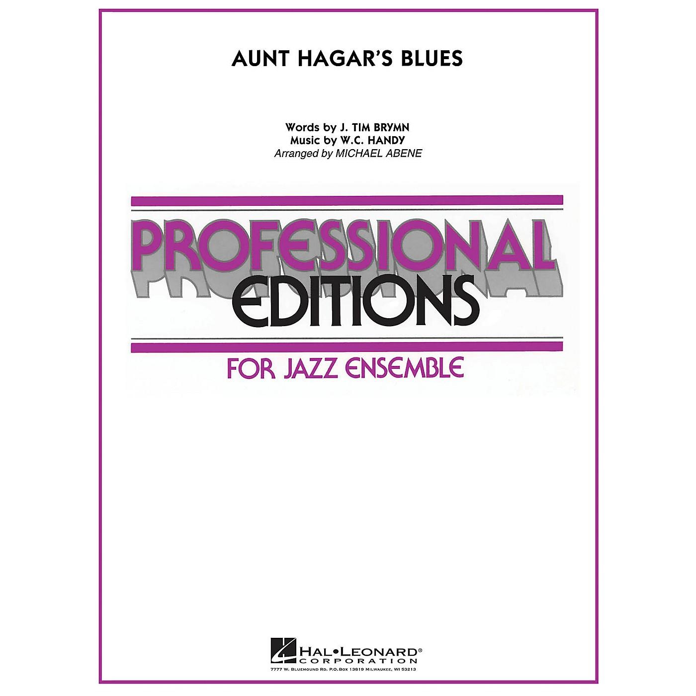 Hal Leonard Aunt Hagar's Blues Jazz Band Level 5-6 Arranged by Michael Abene thumbnail
