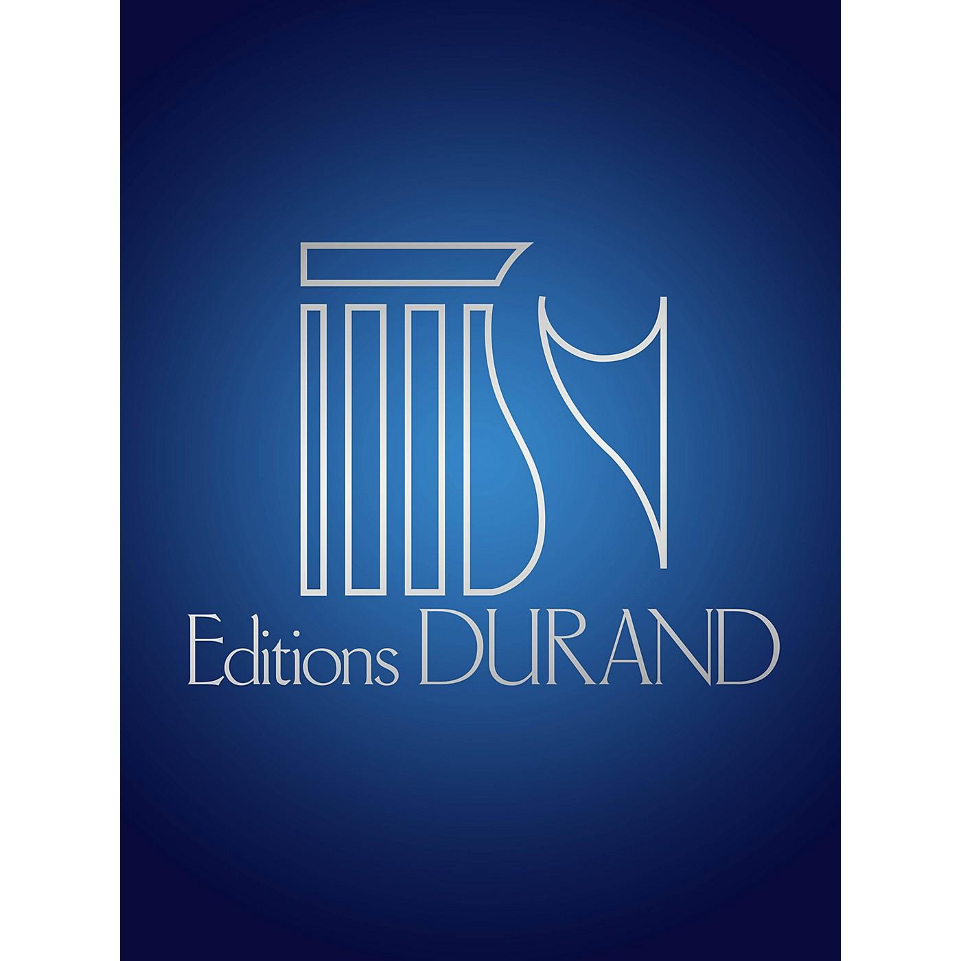 Editions Durand Aupres de toi (Du Beist Mei Meir) (Voice and Piano) Editions Durand Series by Johann Sebastian Bach thumbnail
