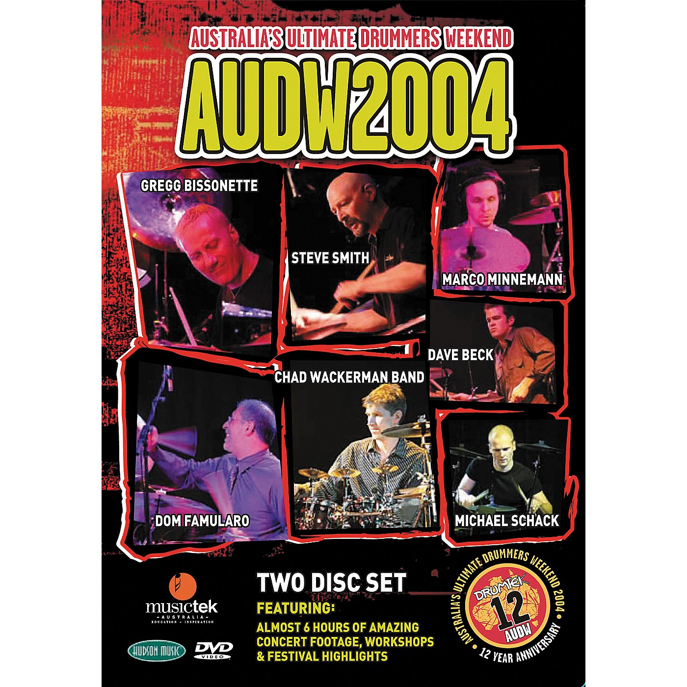 Hudson Music Australia's Ultimate Drummers Weekend - AUDW 2004 2-DVD Set thumbnail