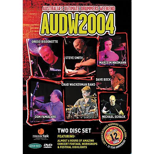 Hudson Music Australia's Ultimate Drummers Weekend - AUDW 2004 2-DVD Set thumbnail