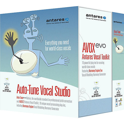Antares Auto-Tune 7 Vocal Studio TDM Software Plug-Ins-thumbnail