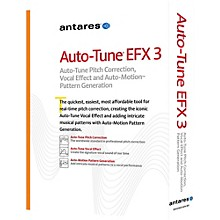 Antares Auto Tune EFX 3 AAX Native Software Download