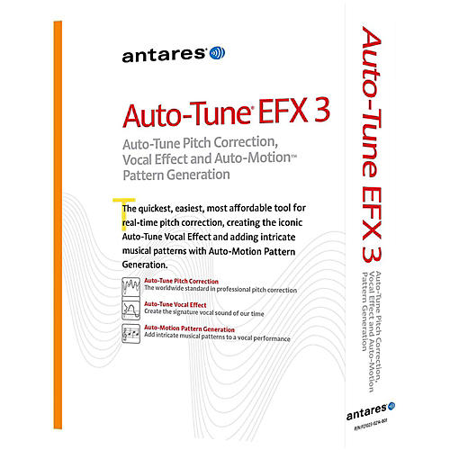 Antares Auto Tune EFX 3 AAX Native Software Download thumbnail