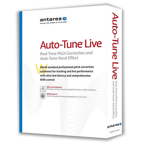 Antares Auto-Tune Live Vocal Processing Software thumbnail
