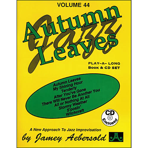 Jamey Aebersold Autumn Leaves Play-Along Book and CD thumbnail