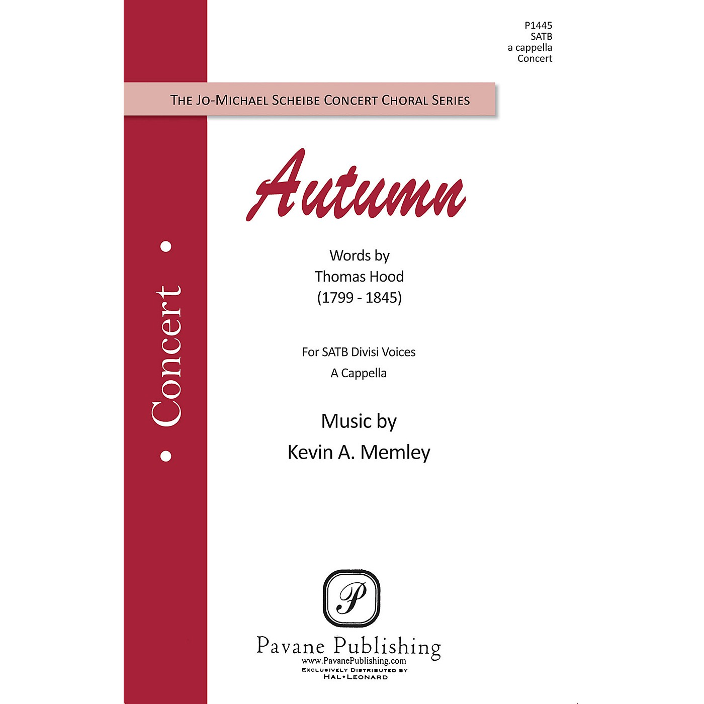Pavane Autumn SATB composed by Kevin Memley thumbnail