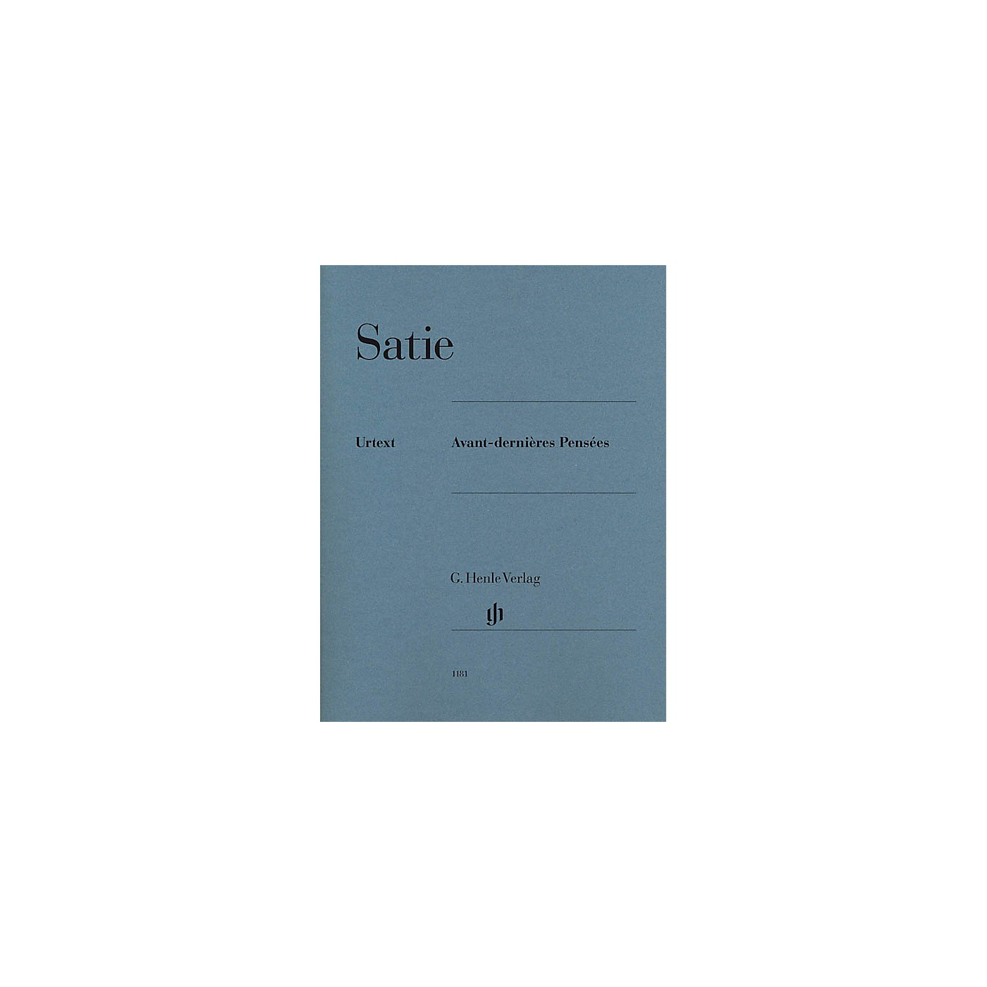 G. Henle Verlag Avant-dernières Pensées Henle Music Folios Series Softcover thumbnail