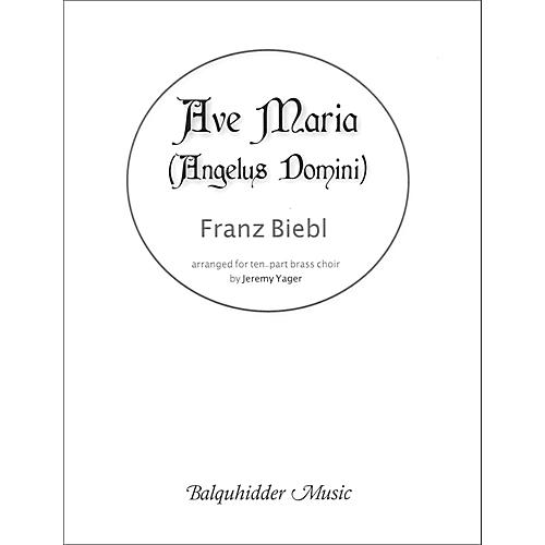 Carl Fischer Ave Maria (Angelus Domini) - for Brass Choir thumbnail