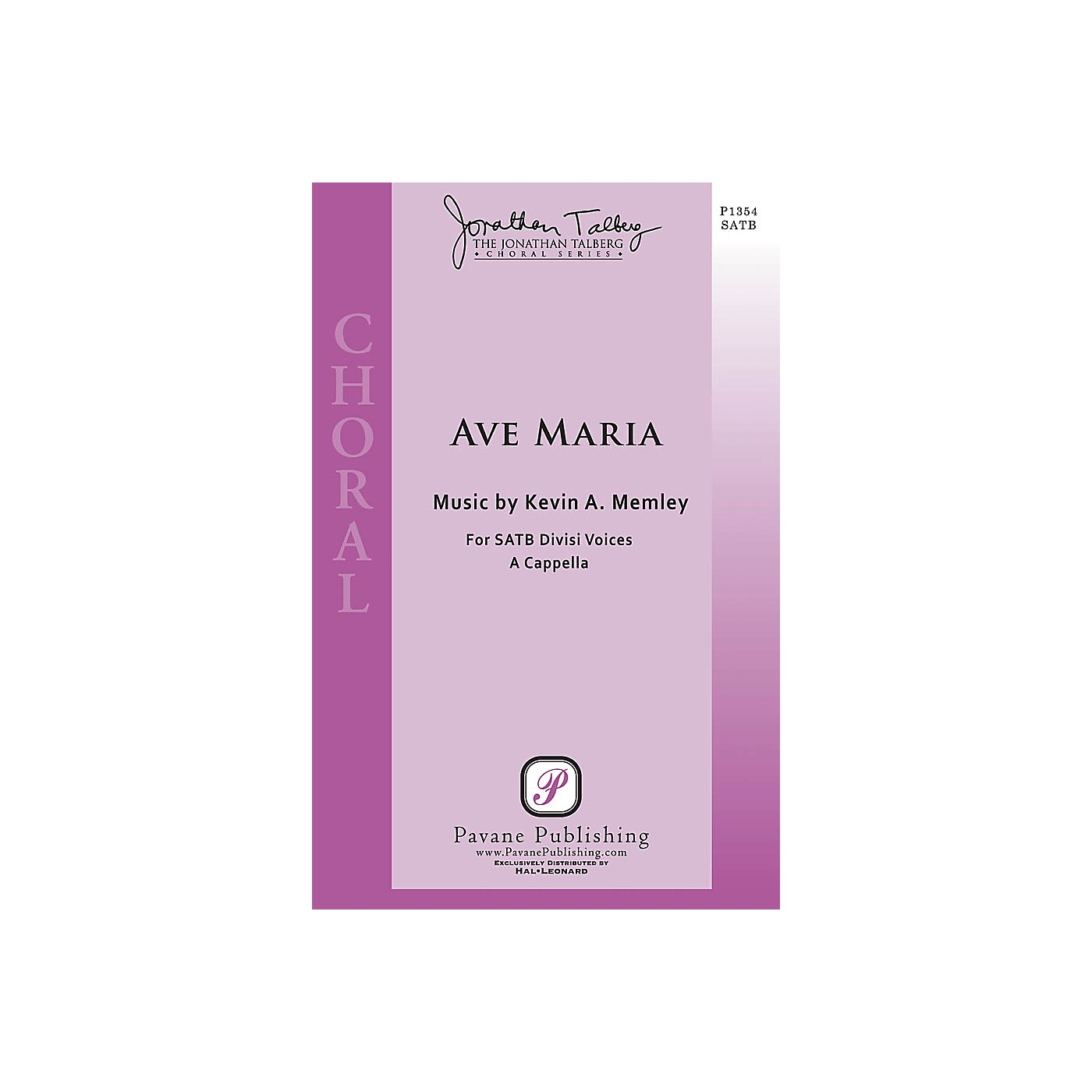 Pavane Ave Maria (The Jonathan Talberg Choral Series) SSAATTBB A Cappella composed by Kevin A. Memley thumbnail