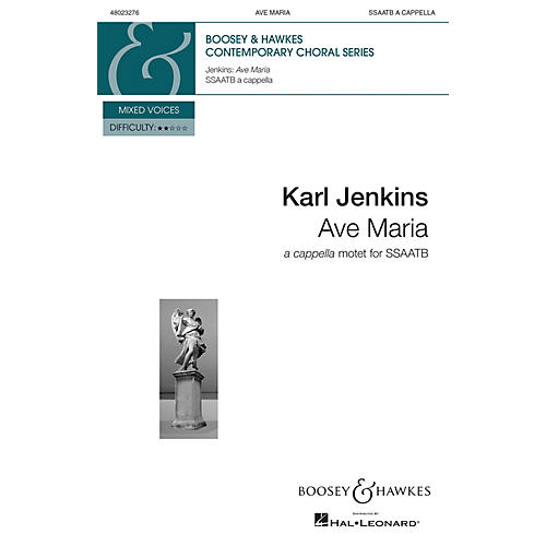 Boosey and Hawkes Ave Maria from Adiemus: Songs of Sanctuary (SSAATB a cappella) SSAATB composed by Karl Jenkins thumbnail
