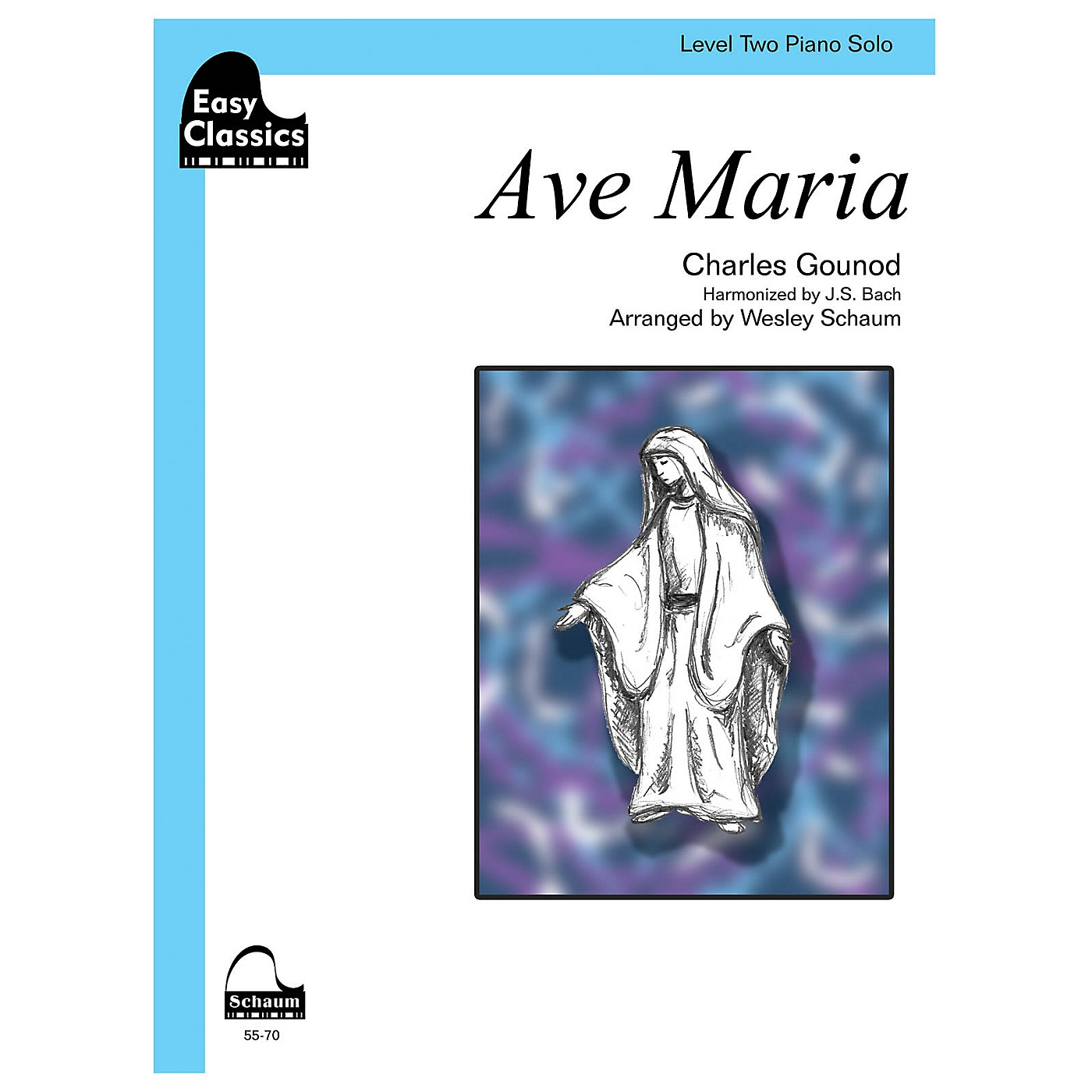 SCHAUM Ave Maria (gounod-bach) Educational Piano Series Softcover thumbnail