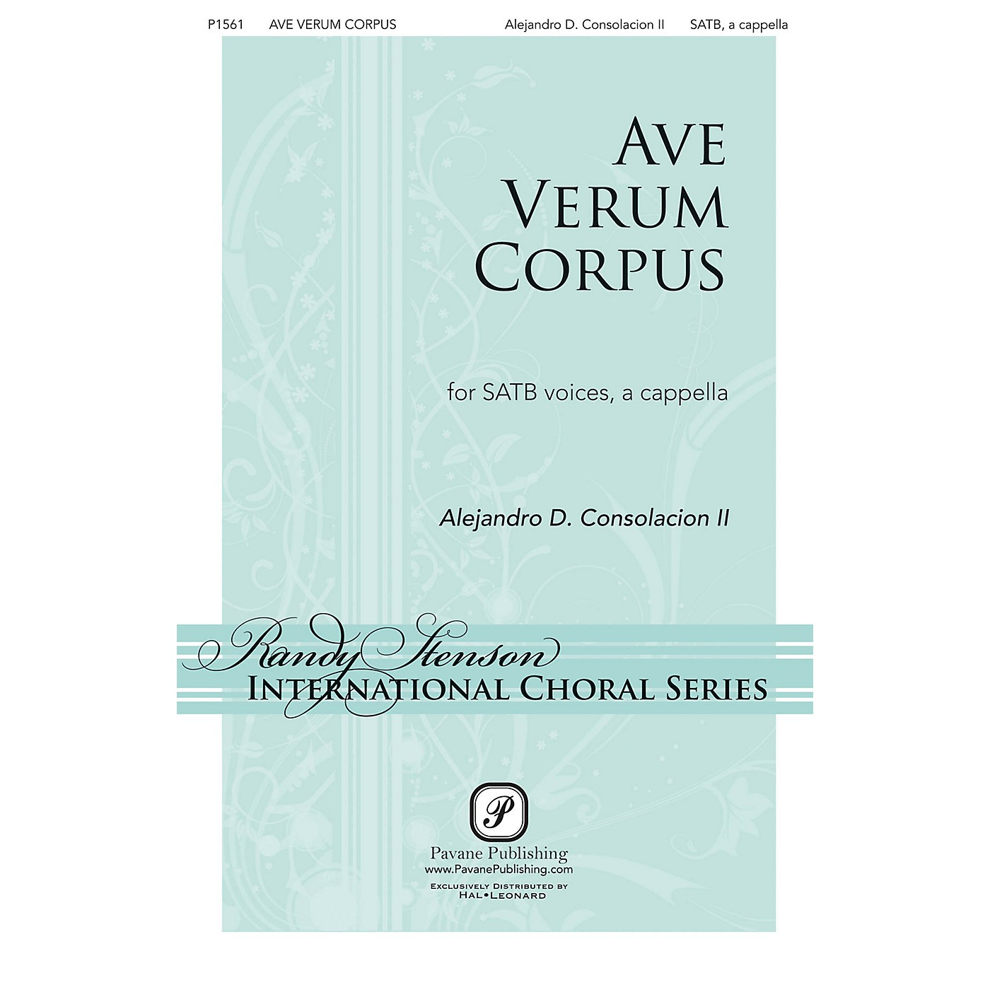 Pavane Ave Verum Corpus SATB a cappella composed by Alejandro Consolacion thumbnail