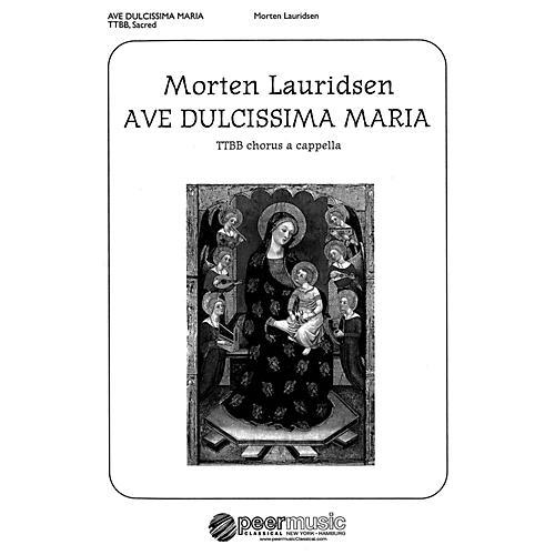 Peer Music Ave dulcissima Maria (TTBB a cappella) Composed by Morten Lauridsen thumbnail