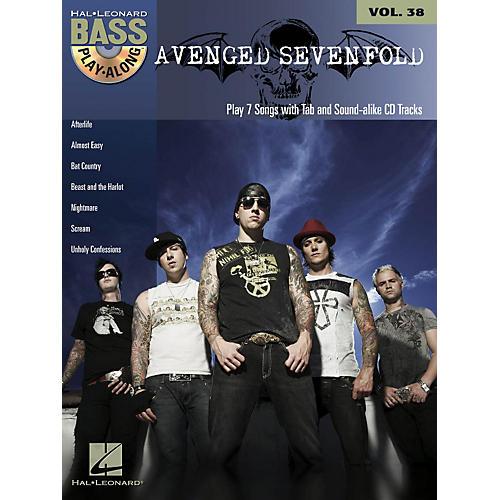 Hal Leonard Avenged Sevenfold - Bass Play-Along Volume 38 Book/CD thumbnail