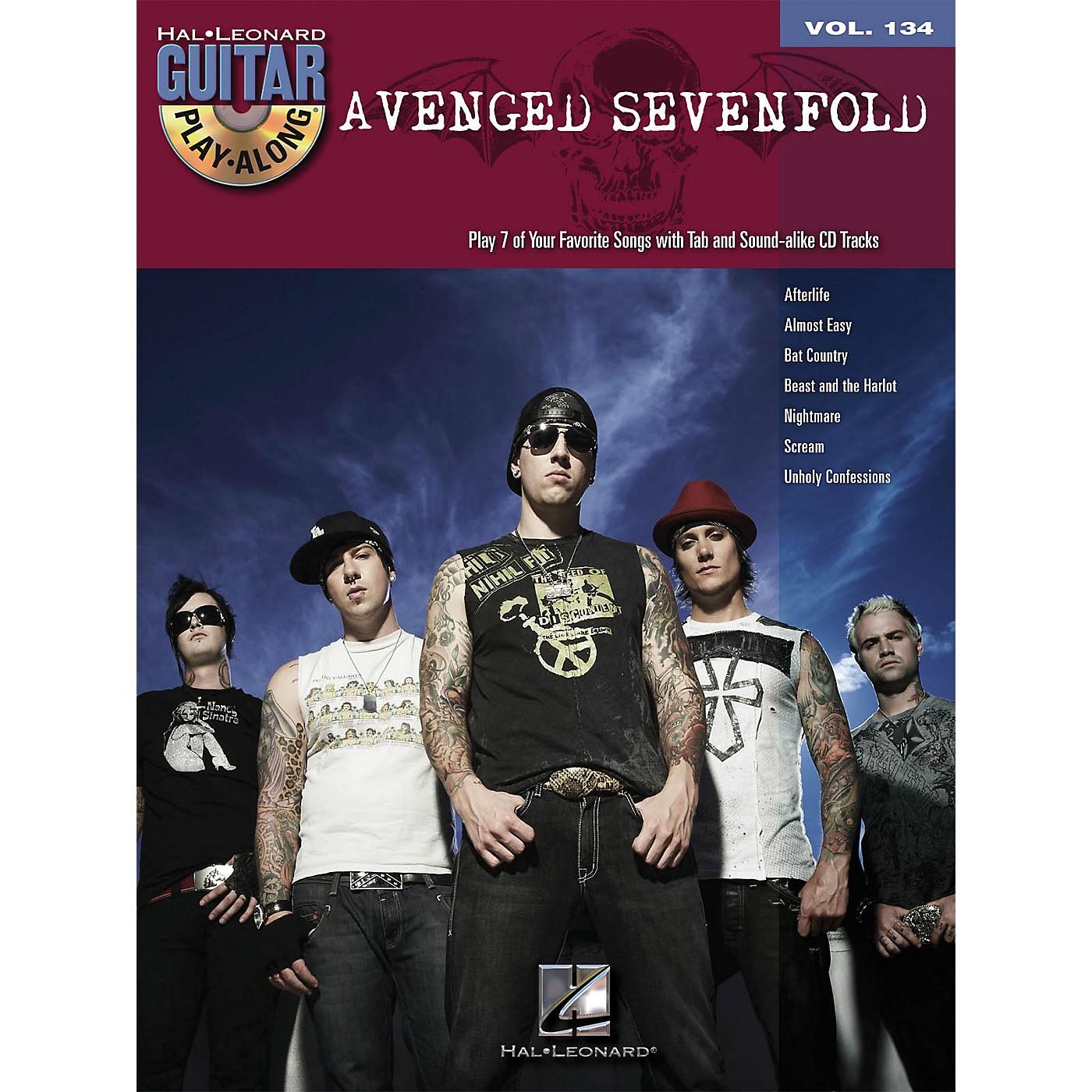 Hal Leonard Avenged Sevenfold - Guitar Play-Along Volume 134 (Book/CD) thumbnail
