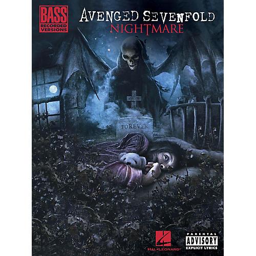 Hal Leonard Avenged Sevenfold - Nightmare Bass Tab Songbook thumbnail