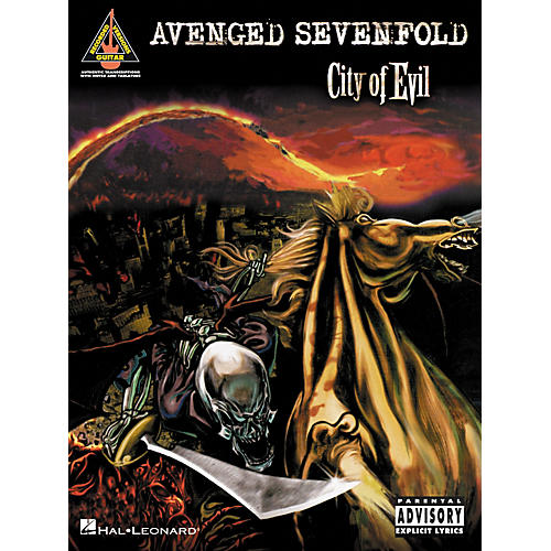 Hal Leonard Avenged Sevenfold City of Evil Guitar Tab Songbook thumbnail