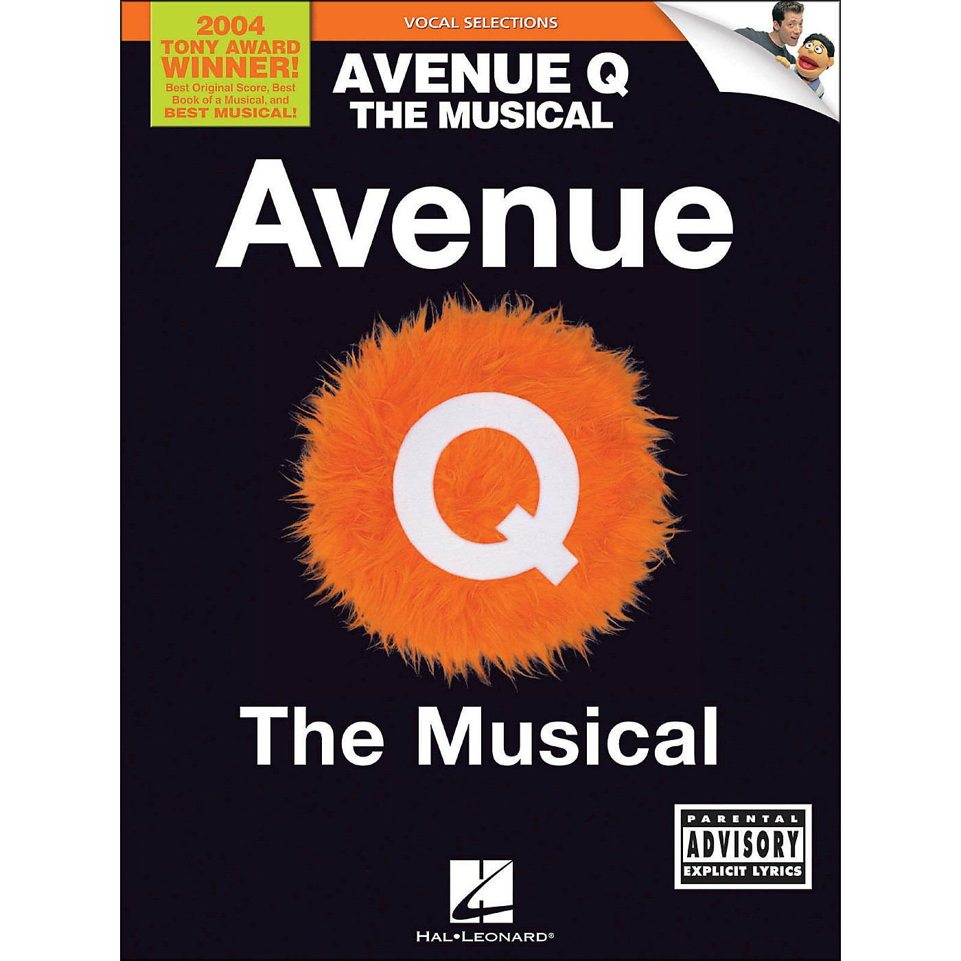 Hal Leonard Avenue Q - The Musical Vocal Selections arranged for piano, vocal, and guitar (P/V/G) thumbnail