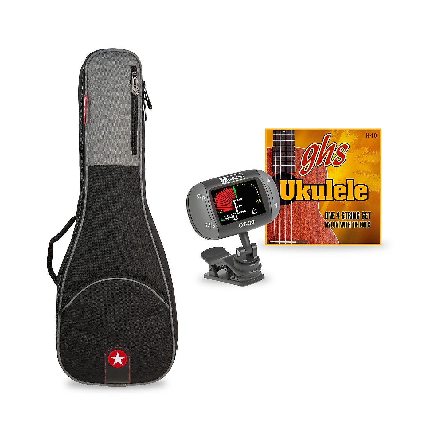 Road Runner Avenue Series Concert Ukulele Accessory Bundle thumbnail