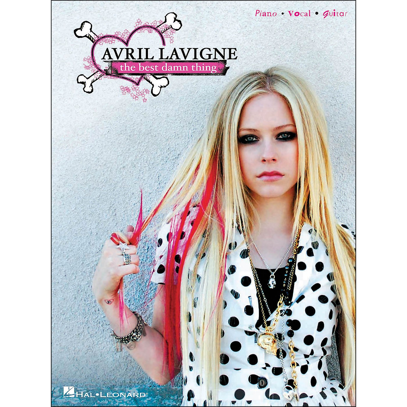 Hal Leonard Avril Lavigne The Best Damn Thing arranged for piano, vocal, and guitar (P/V/G) thumbnail