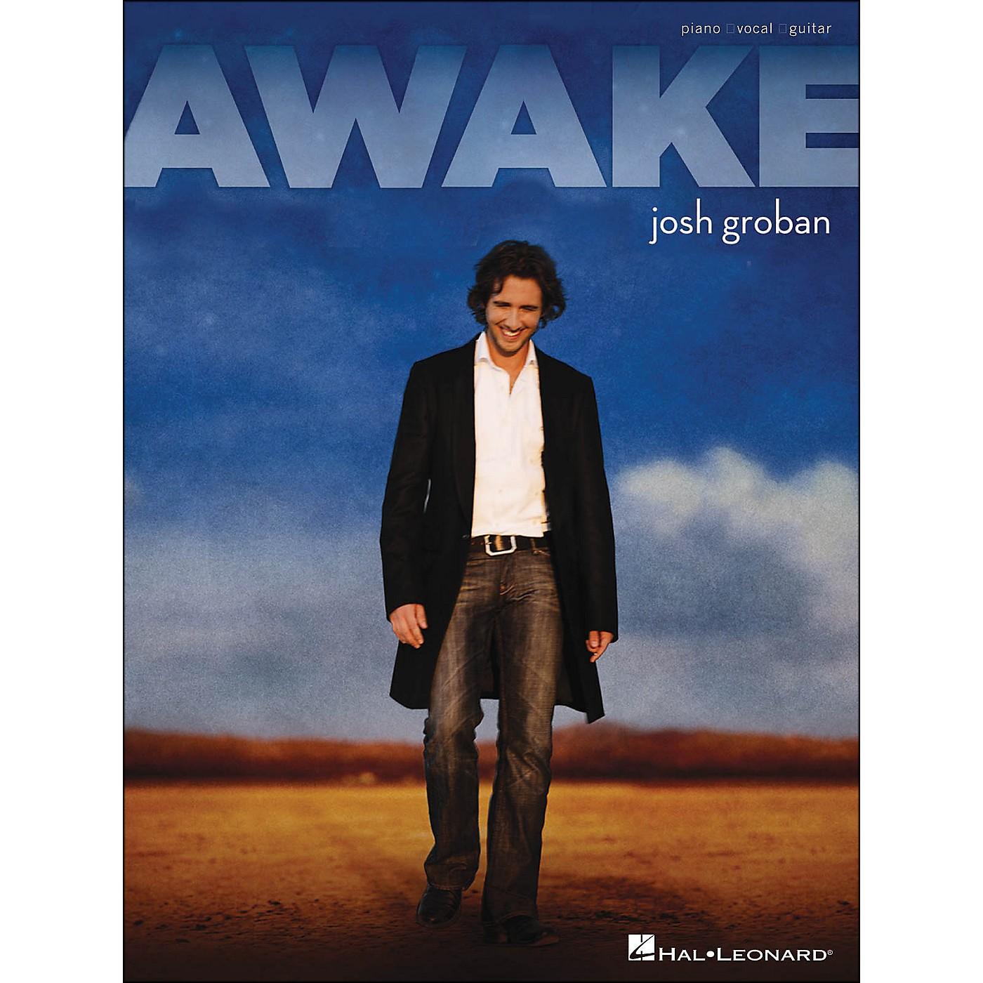 Hal Leonard Awake Josh Groban arranged for piano, vocal, and guitar (P/V/G) thumbnail