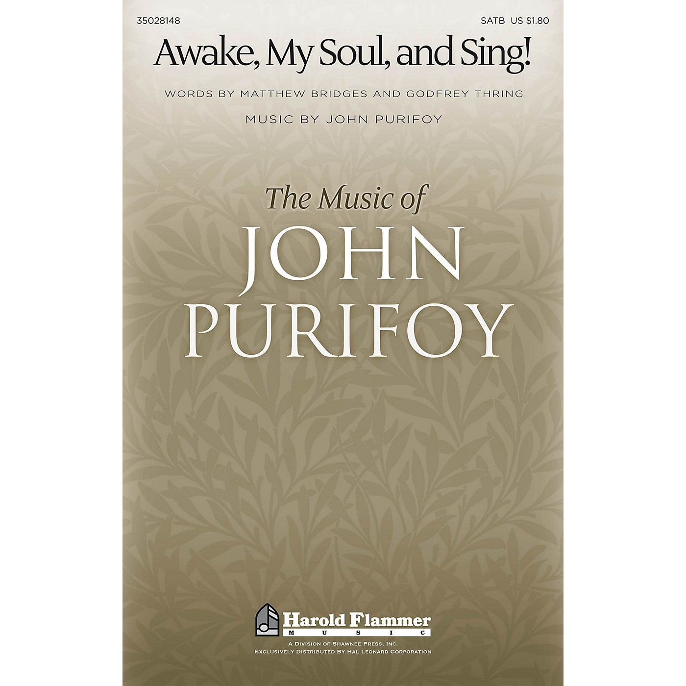 Shawnee Press Awake, My Soul, and Sing! SATB composed by John Purifoy thumbnail