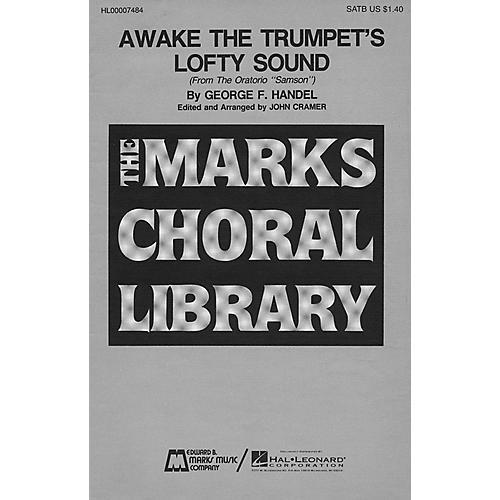 Edward B. Marks Music Company Awake the Trumpet's Lofty Sound SATB composed by George Friedrich Handel thumbnail