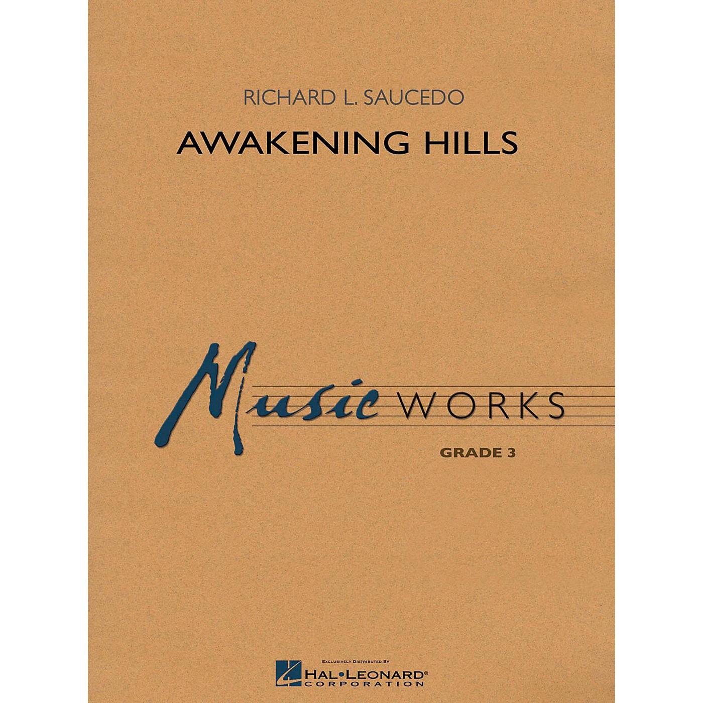 Hal Leonard Awakening Hills - MusicWorks Grade 3 Concert Band thumbnail