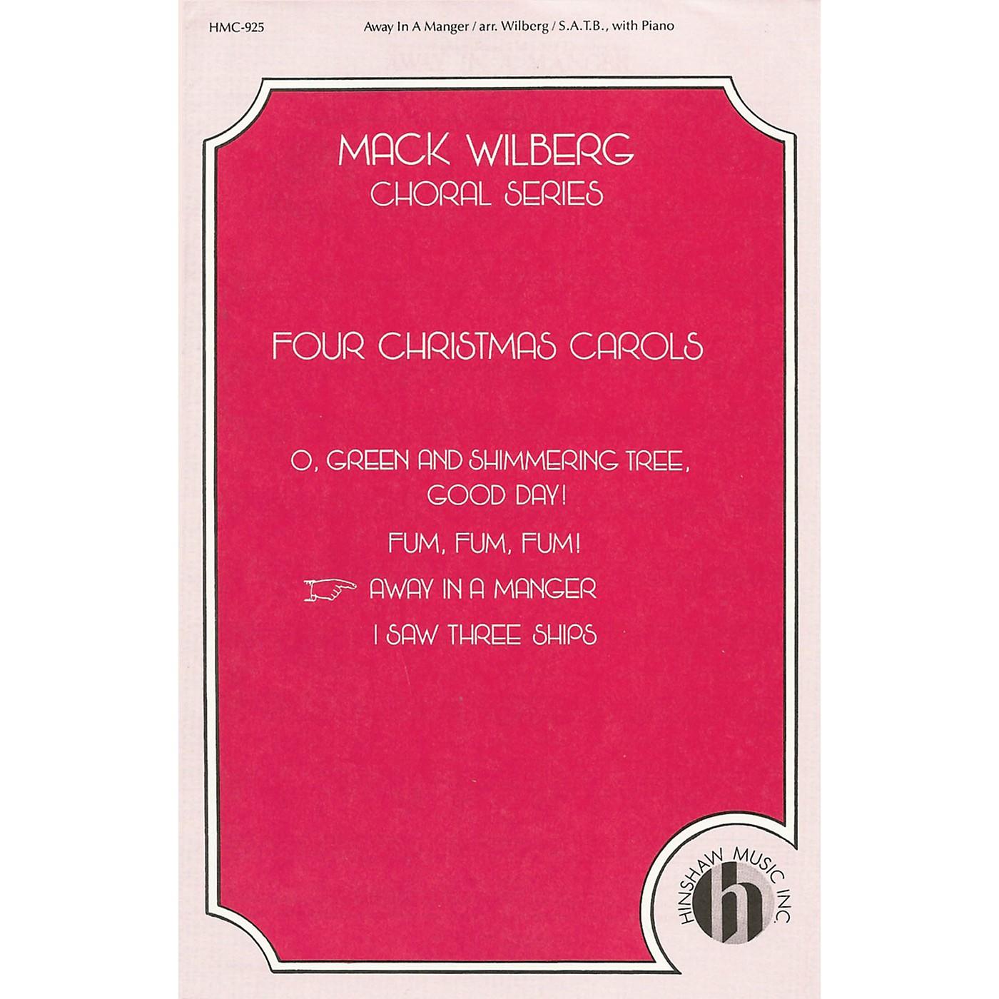 Hinshaw Music Away in a Manger SATB arranged by Mack Wilberg thumbnail
